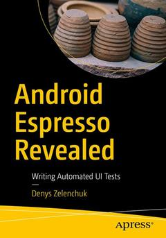 Couverture de l'ouvrage Android Espresso Revealed