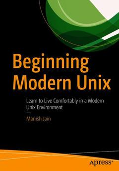 Cover of the book Beginning Modern Unix