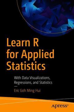 Couverture de l'ouvrage Learn R for Applied Statistics
