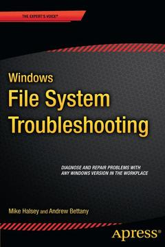 Cover of the book Windows File System Troubleshooting