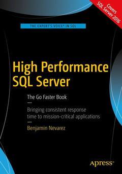 Couverture de l'ouvrage High Performance SQL Server