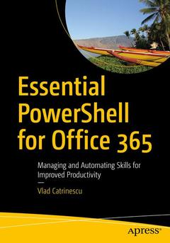 Cover of the book Essential PowerShell for Office 365