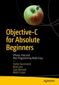 Cover of the book Objective-C for Absolute Beginners