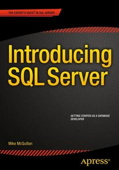 Couverture de l'ouvrage Introducing SQL Server