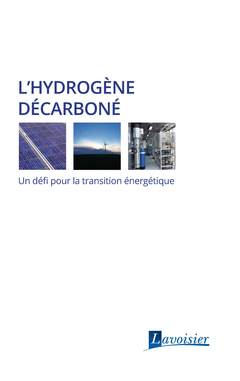Couverture de l'ouvrage L'hydrogène décarboné