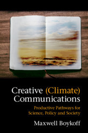 Cover of the book Creative (Climate) Communications