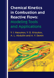 Cover of the book Chemical Kinetics in Combustion and Reactive Flows: Modeling Tools and Applications