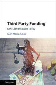 Cover of the book Third Party Funding