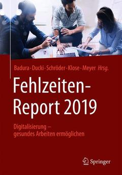 Cover of the book Fehlzeiten-Report 2019