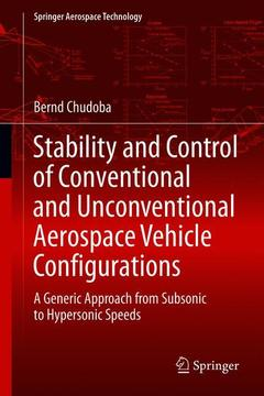 Couverture de l'ouvrage Stability and Control of Conventional and Unconventional Aircraft Configurations
