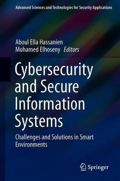 Couverture de l'ouvrage Cybersecurity and Secure Information Systems
