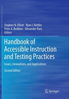 Cover of the book Handbook of Accessible Instruction and Testing Practices