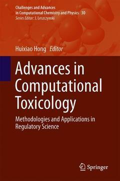 Couverture de l'ouvrage Advances in Computational Toxicology