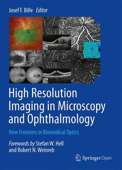 Couverture de l'ouvrage High Resolution Imaging in Microscopy and Ophthalmology