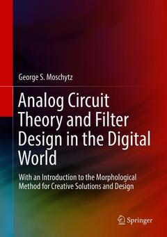 Couverture de l'ouvrage Analog Circuit Theory and Filter Design in the Digital World