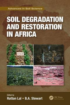 Cover of the book Soil Degradation and Restoration in Africa