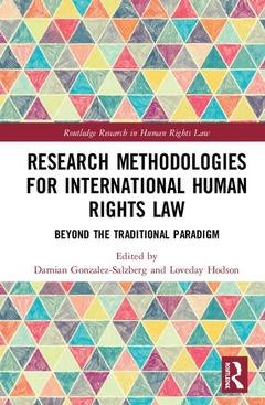 Cover of the book Research Methodologies for International Human Rights Law