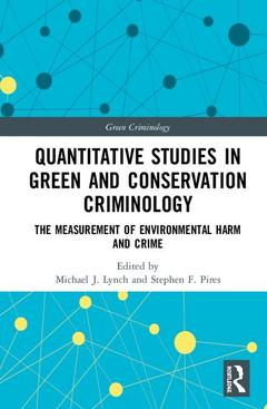 Cover of the book Quantitative Studies in Green and Conservation Criminology