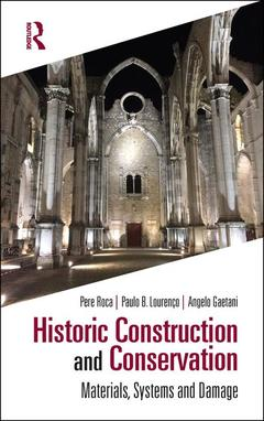 Cover of the book Historic Construction and Conservation
