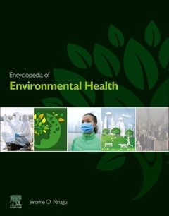 Cover of the book Encyclopedia of Environmental Health