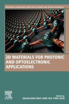 Cover of the book 2D Materials for Photonic and Optoelectronic Applications