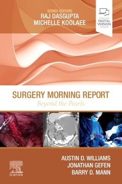 Cover of the book Surgery Morning Report: Beyond the Pearls