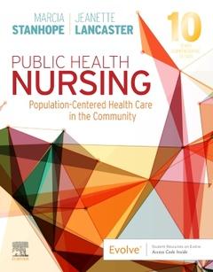 Couverture de l'ouvrage Public Health Nursing