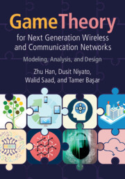 Cover of the book Game Theory for Next Generation Wireless and Communication Networks