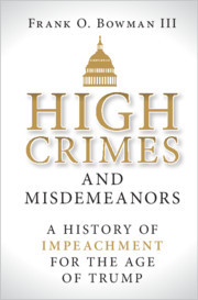 Cover of the book High Crimes and Misdemeanors