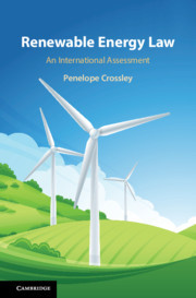 Cover of the book Renewable Energy Law