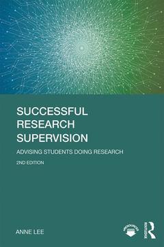 Couverture de l'ouvrage Successful Research Supervision