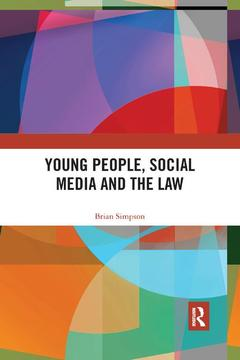 Cover of the book Young People, Social Media and the Law