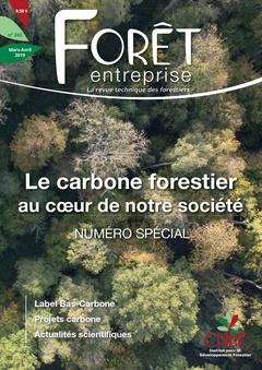 Couverture de l'ouvrage La carbone forestier au coeur de notre société