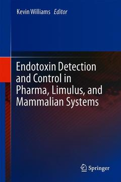 Cover of the book Endotoxin Detection and Control in Pharma, Limulus, and Mammalian Systems