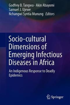 Cover of the book Socio-cultural Dimensions of Emerging Infectious Diseases in Africa