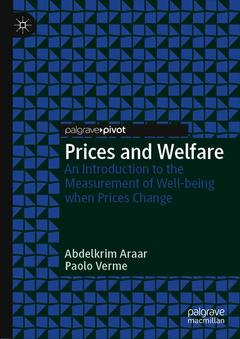 Couverture de l'ouvrage Prices and Welfare