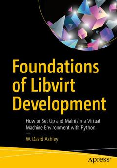 Cover of the book Foundations of Libvirt Development