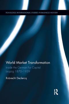 Couverture de l'ouvrage World Market Transformation