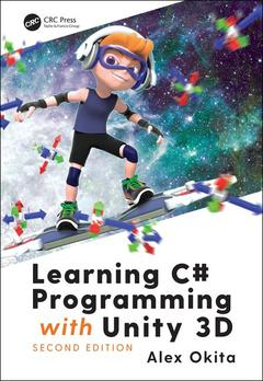 Cover of the book Learning C# Programming with Unity 3D, second edition