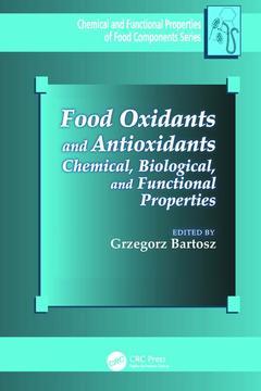 Couverture de l'ouvrage Food Oxidants and Antioxidants