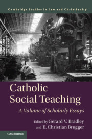 Cover of the book Catholic Social Teaching