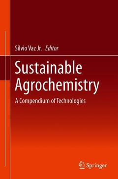 Cover of the book Sustainable Agrochemistry