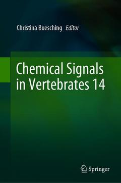 Cover of the book Chemical Signals in Vertebrates 14