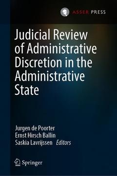Cover of the book Judicial Review of Administrative Discretion in the Administrative State