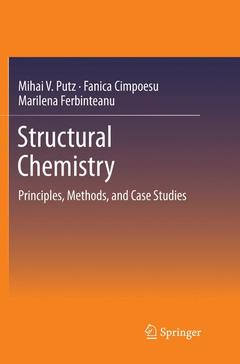 Couverture de l'ouvrage Structural Chemistry