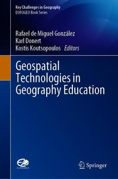 Couverture de l'ouvrage Geospatial Technologies in Geography Education