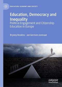 Couverture de l'ouvrage Education, Democracy and Inequality