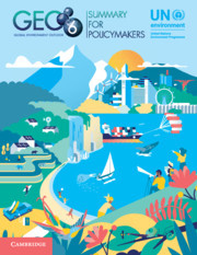 Cover of the book Global Environment Outlook - GEO-6: Summary for Policymakers