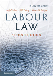 Cover of the book Labour Law