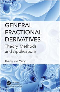 Couverture de l'ouvrage General Fractional Derivatives